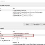 Windows 10 Umgebungsvariablen JAVA_HOME